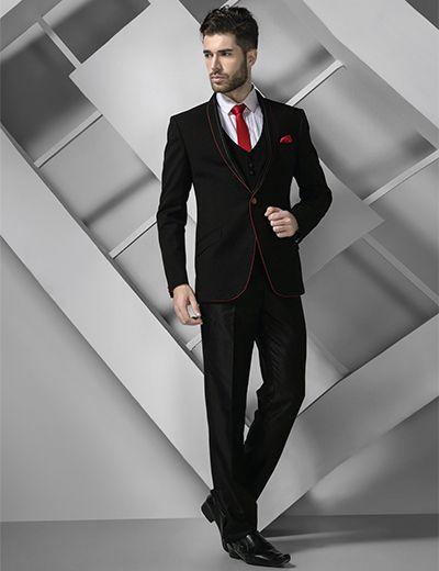 938402e9f Terry rayon black plain men coat suit | MENS ETHNIC COLLECTION ...