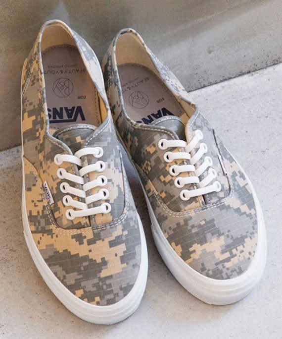 basket camouflage vans