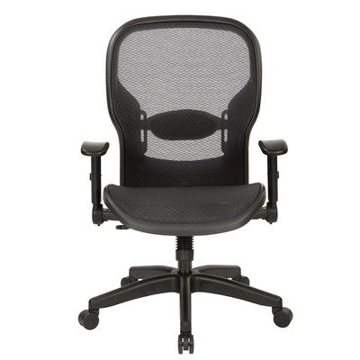 Office Star Space Seating Professional High-Back Mesh Executive Chair