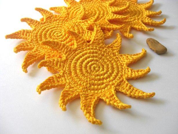 Ravelry: Sun shine amigurumi sun pattern by Maro Akamatra | 461x615