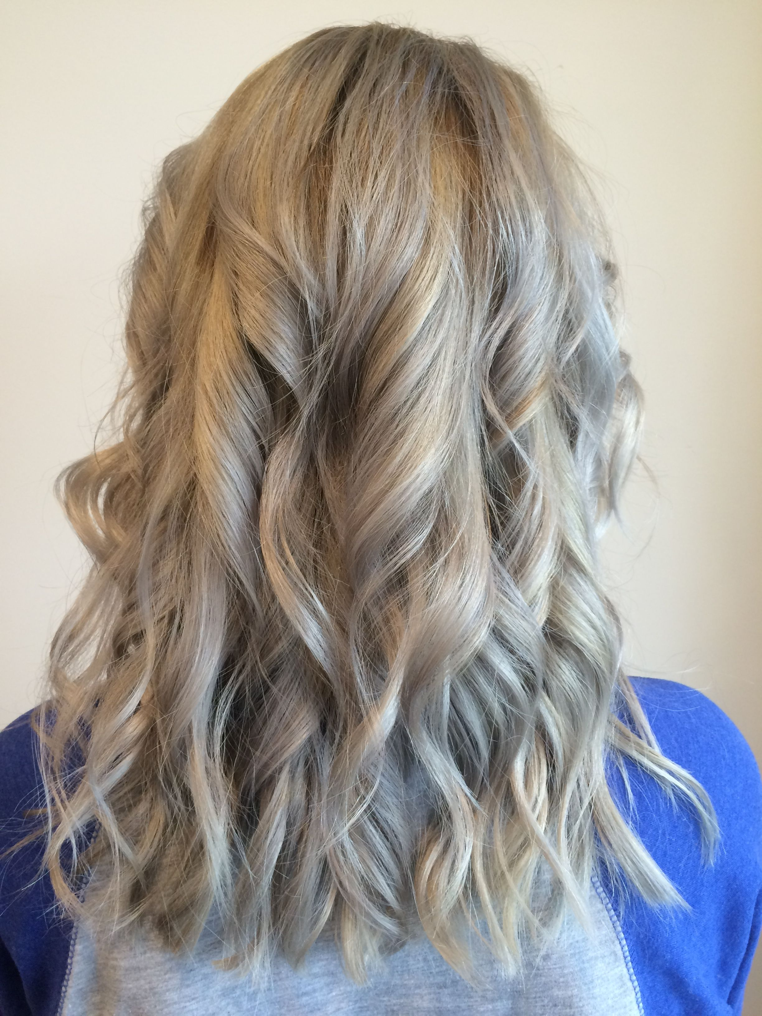 Hair Color Silver Toner With Low Light Natural Take On Blue Silver Hair Silver Hair Long Hair Styles Silver Toner
