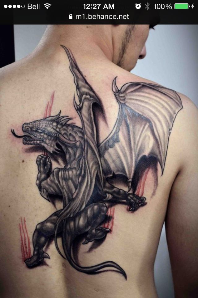 Pin By Patty Blackwell On Dragonish Tatouage Dragon Tatouage