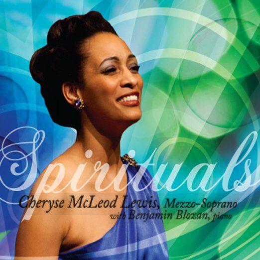 """Cheryse McLeod Lewis, """"Spirituals,"""" album cover, 2012"""