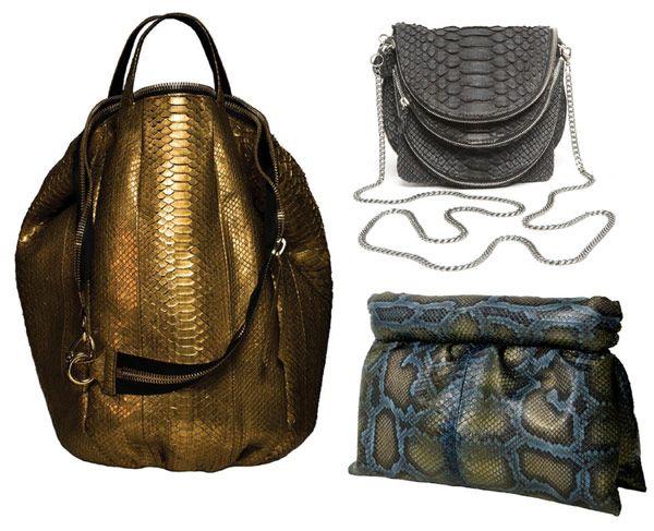 Sang-A-snakeskin-bags