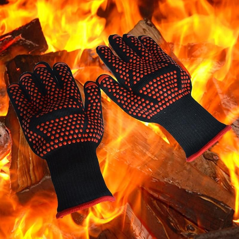 For Cooking Baking Grilling Oven Mitts Bbq Gloves Gloves Oven