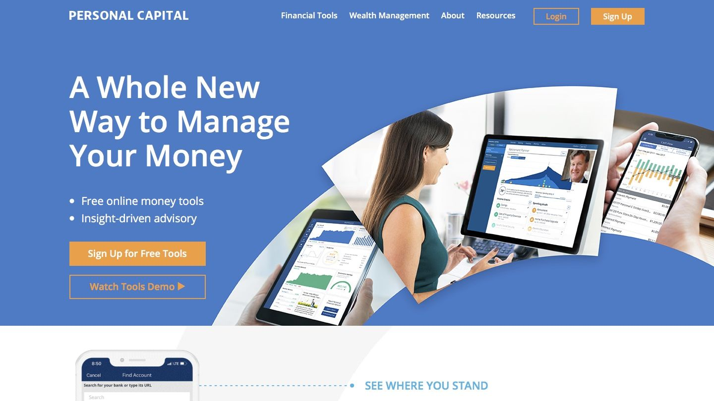 App Review Personal Capital Money management activities