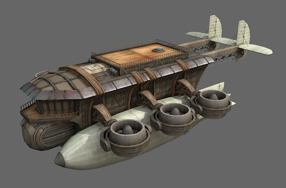 steampunk air vehicles images galleries with a bite. Black Bedroom Furniture Sets. Home Design Ideas