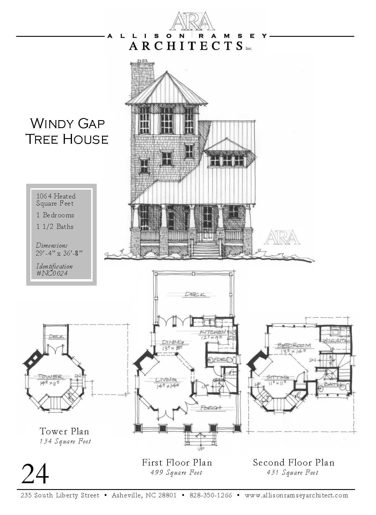 Windy Gap Tree House Allisonramseyarchitects House Plans Sims House Plans Best Tiny House