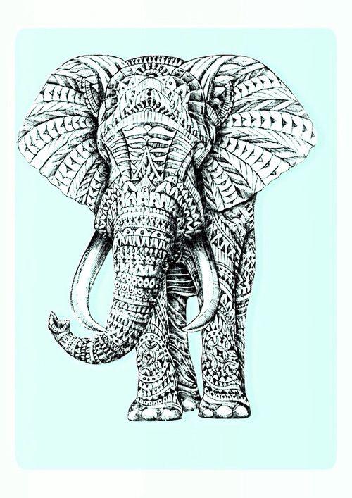 Image Via We Heart It Adorable Background Cute Elephant Light Pastel Print Tribal Elephant Wallpaper Elephant Background Tribal Elephant Iphone rose gold elephant wallpaper hd