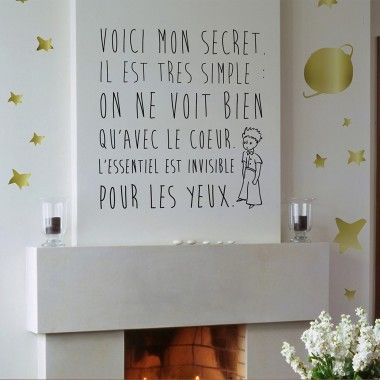 Toile Citation Petit Prince Citations Prince Nursery