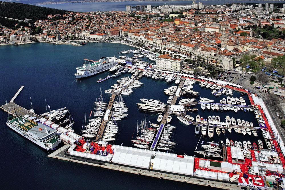 Marina In Split Croatia During The Boat Show Croatia City Photo Favorite Places