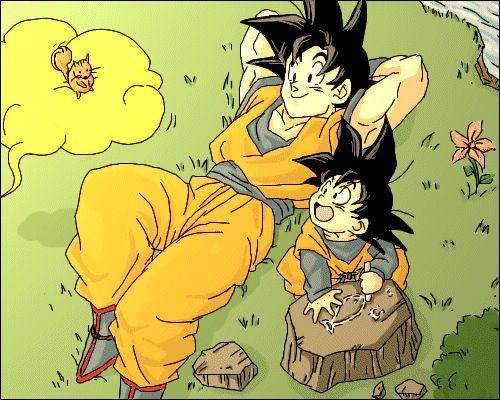 Goku Goten So Much Cute Anime Dragon Ball Dragon Ball Artwork Anime