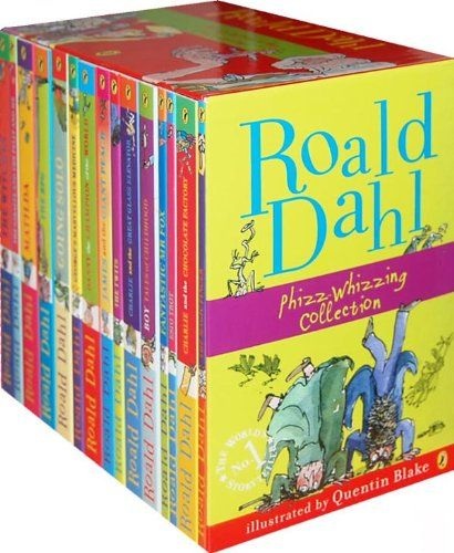ALL Roald Dahl Books- Go back and re-read them, too. They actually have very interesting lessons/ morals to them. I'd love for Mila to read them when she grows up.