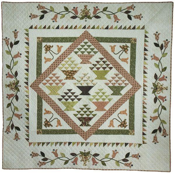 Clementine, Bon Bon Designs, Threadbear, Robyn Falloon | Basket ... : threadbear quilts - Adamdwight.com
