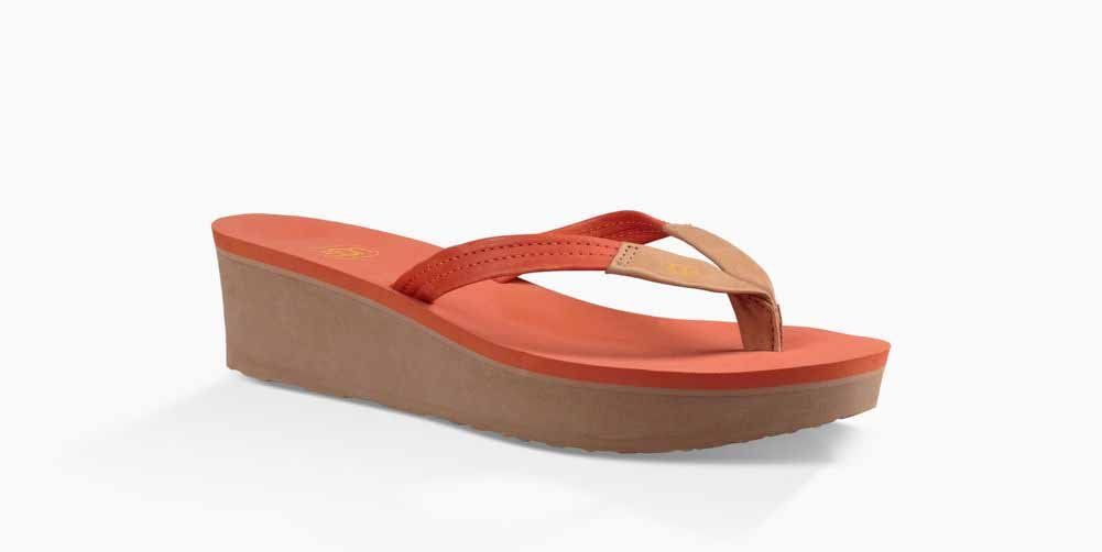 a5dbc2978238 UGG Womens Ruby Wedge Flip Flop Fire Opal 10 US 10 B US   Click on the  image for additional details. (This is an affiliate link)  womenssandals