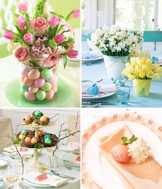 Spring Table Decorations 4 easy spring ideas for table decorations : perfect for easter too