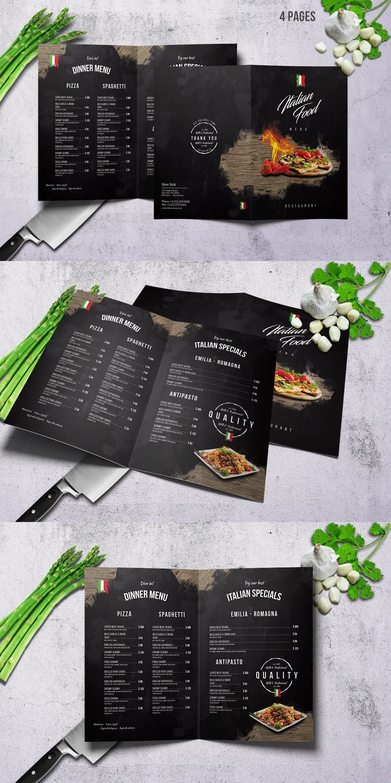 Top 39 Free Restaurant Menu Psd Templates Mockups 2019