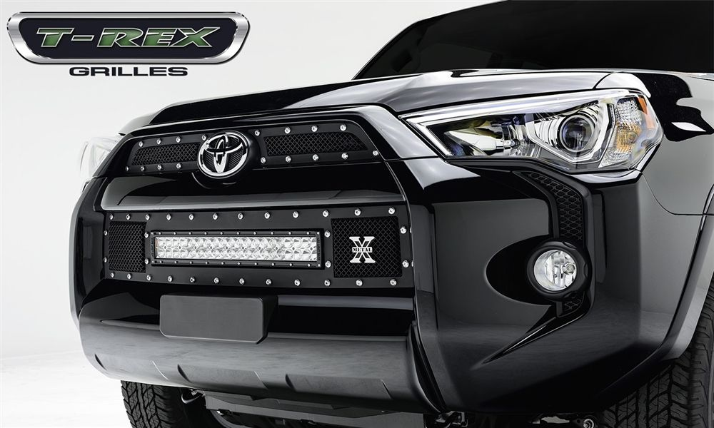 Toyota 4Runner 2014 Black Torch LED Light Bar Series