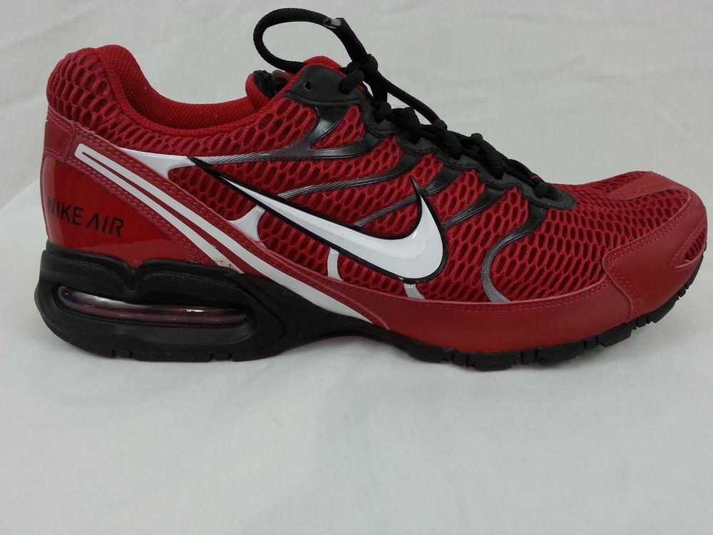 buy popular a492c 3b421 ... Mens Nike Air Max Torch 4 Sneakers Shoes Size 13 Red Black 343846 600  ...