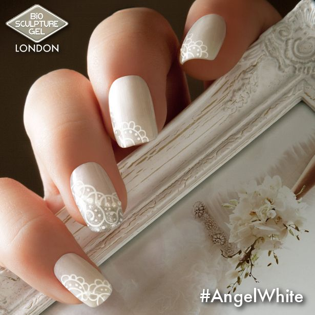 no.163 Angel White. Pearl white with soft purple sheen
