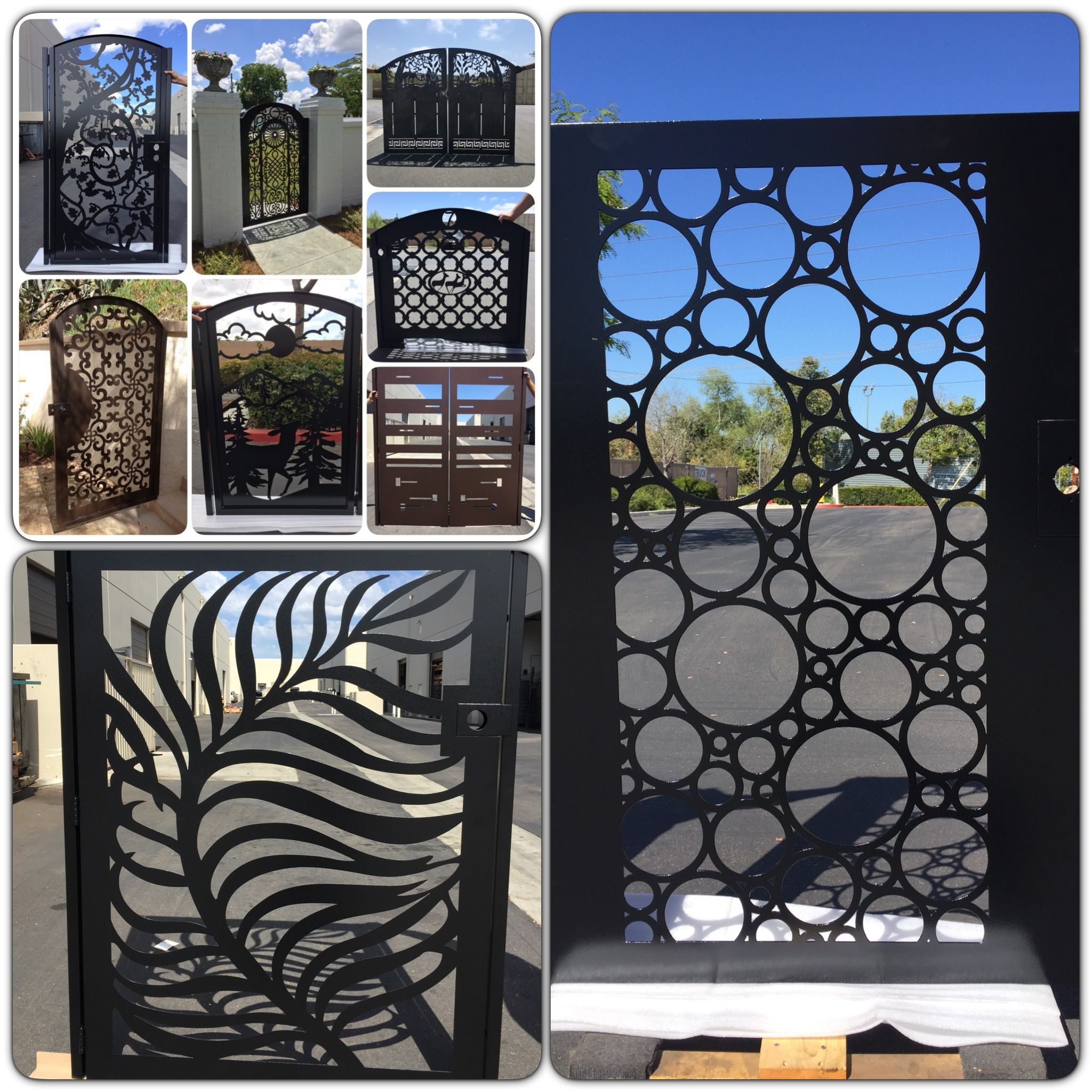 Davinci Gate B Fence Design Gate Design Compound Wall