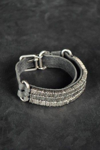 Goti - Triple Silver Bracelet - -PNP, fashion stores in Florence