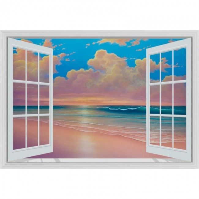 Murals101 Tropical Beach Paradise by David Miller Murals101