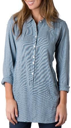 Toad&Co Women's Mixologist Tunic Blue Abyss S