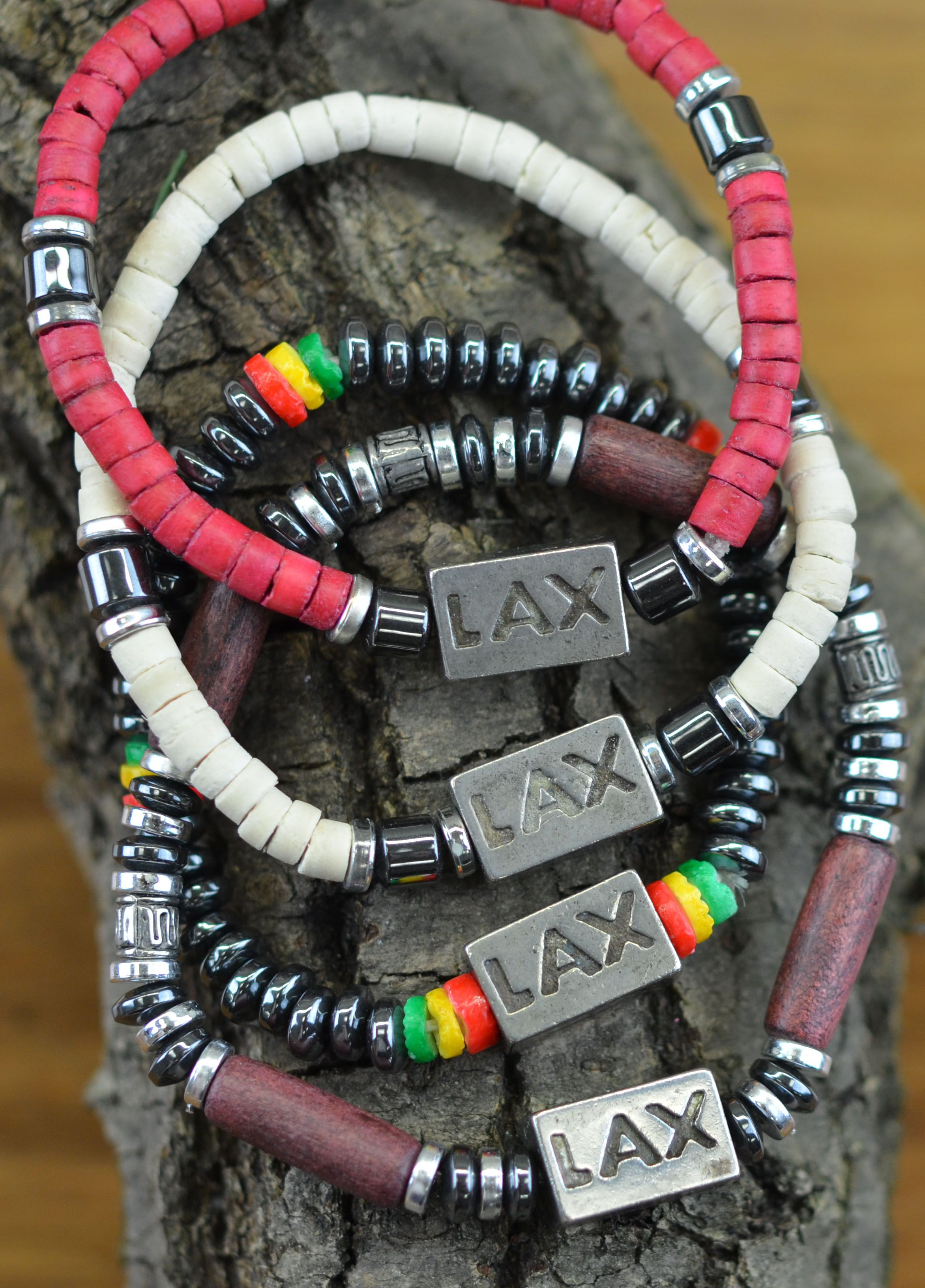 A Lacrosse Bracelet That Is Rugged And Cool For Any Top Lax Guy! Check Out