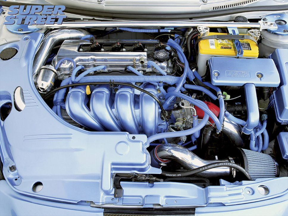 2002 Celica GTS Engine with an OPTIMA YELLOWTOP Show Us