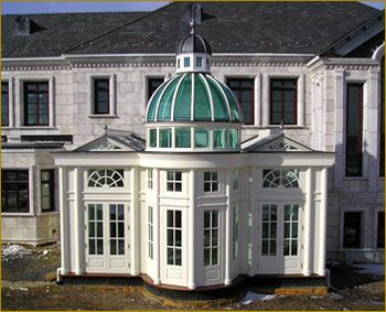 Attractive Domed Orangery, Conservatories Our Artisans And Crafstsman Build Exquisite  Conservatories That Match The Architecture Of Your Home.