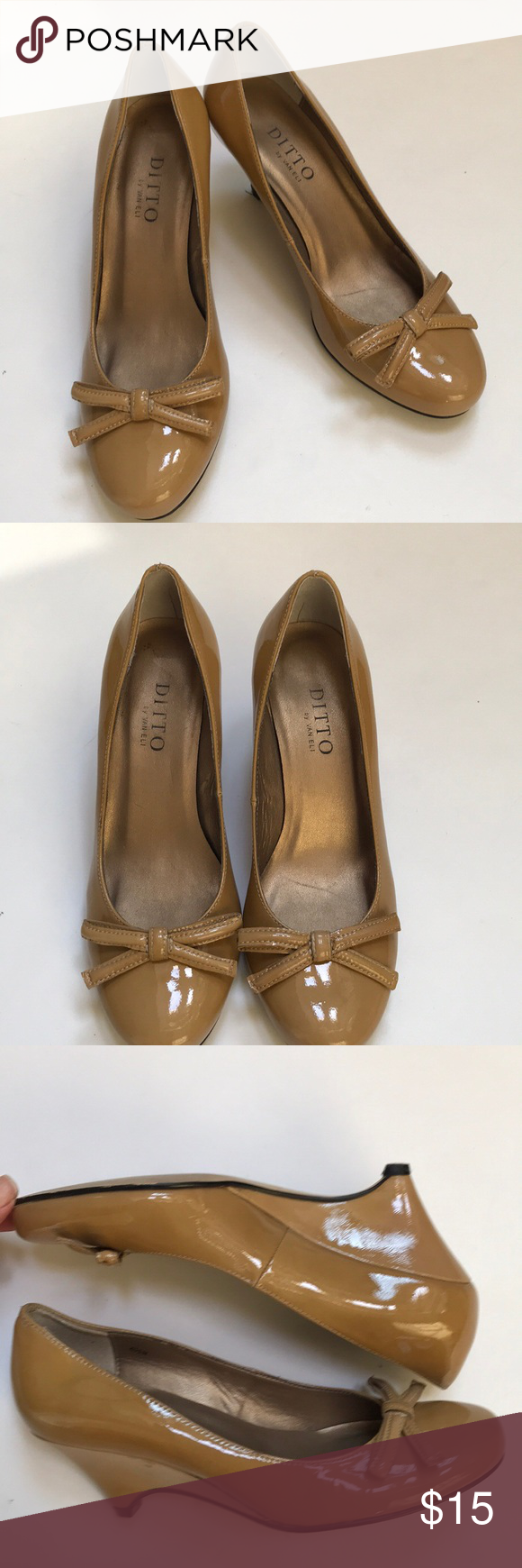 79347228e975 Ditto By Van Eli Wedge Heels Ditto By Van Eli Patent Leather Wedge Heels  size 6.5