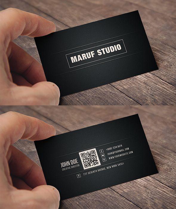 Blakish business card by maruf1iantart on deviantart blakish business card reheart Choice Image