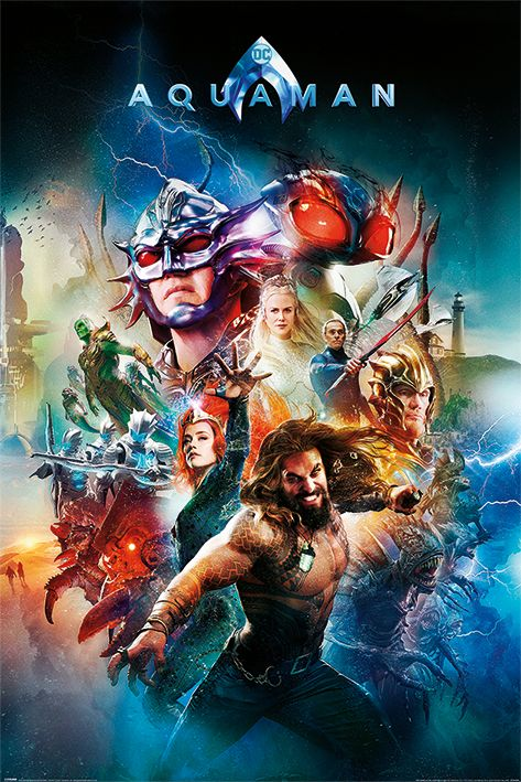 Aquaman Battle For Atlantis Plakat W 2019 Dekoracja