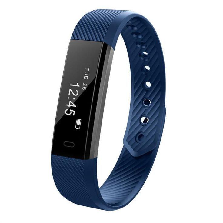 ID115HR Bluetooth Heart Rate Monitor Smart Bracelet Fitness Tracker Pedometer Bracelet #bluetooth #b...