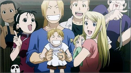 Fullmetal alchemist brotherhood. This show brings me to tears all the time ! LOVE THE ENDING THEME SONG OF EP. 64