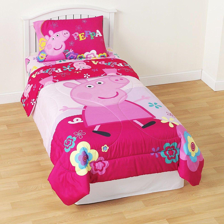 Peppa Pig Twin Comforter and Sheet Set Only 54 Спальня