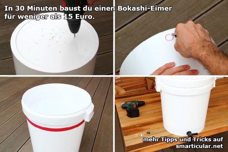 Bokashi Eimer In 30 Minuten Selber Bauen Brot Und Windeln
