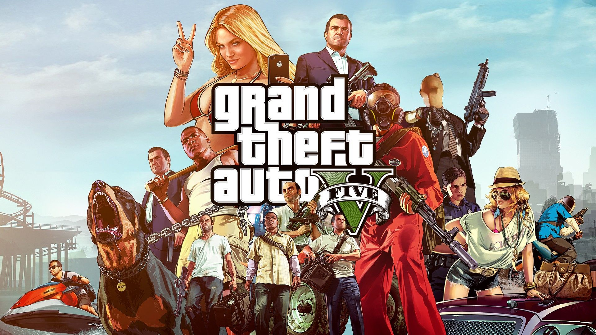 Gta V Gangsters Wallpaper X