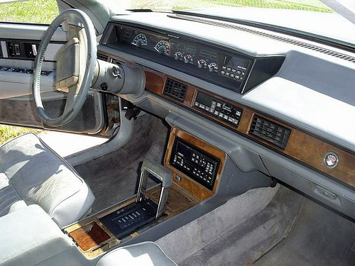 1990 Oldsmobile 98 Touring Sedan That Hartford Guy Flickr Luxury Car Interior Oldsmobile Car Interior