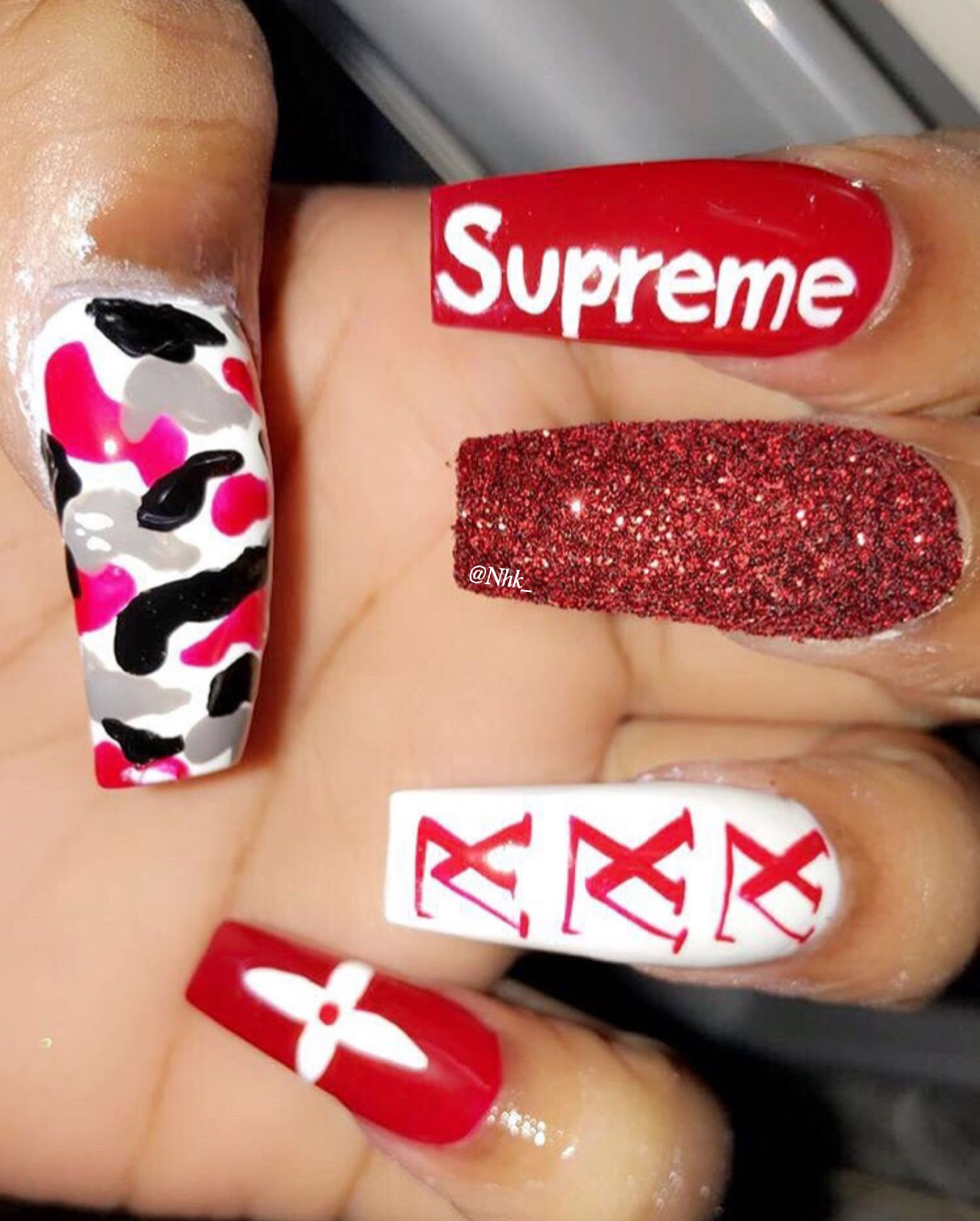 cute ghetto nail art ideas bling nails nail art with cute ghetto nail art ideas bling nails nail art with glitter unas prinsesfo Images