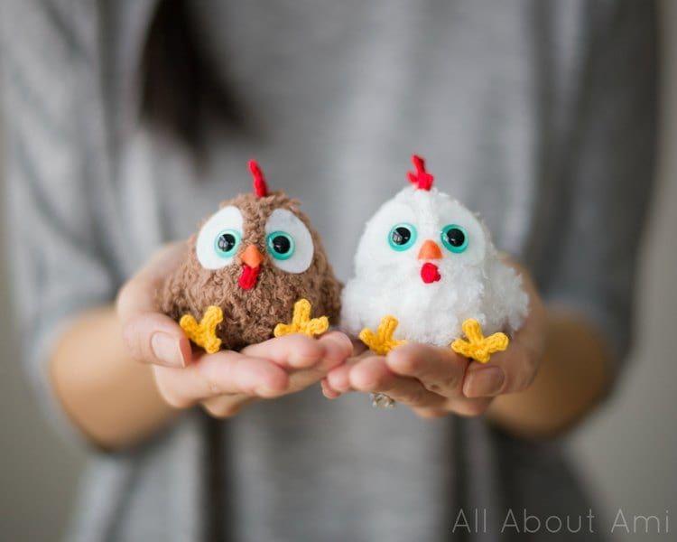 Pattern: Chinese New Year Rooster   Osterdeko, Amigurumi und Häkeln