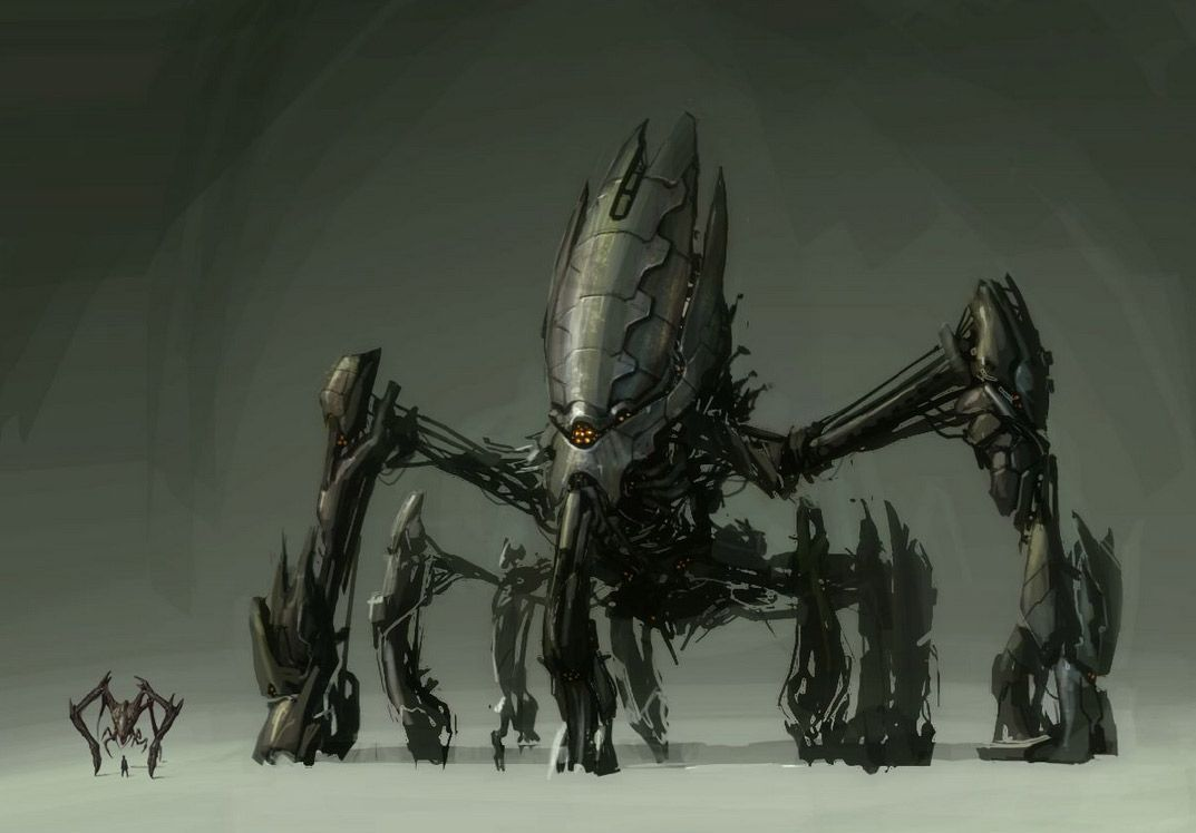 Concept Robots Resistance Fall Of Man Concept Robots By John Wu Robot Art Concept Art Digital Dark Fantasy Art