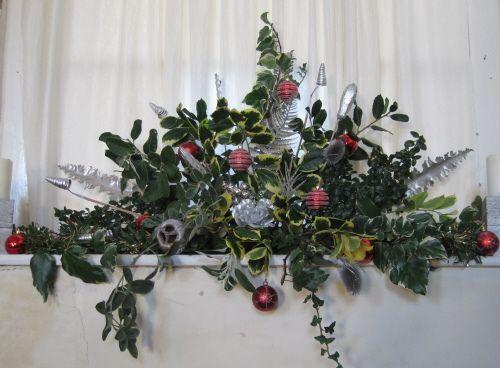 Large Flower Arrangements For Church Christmas Arrangement Flickr Photo Sharing