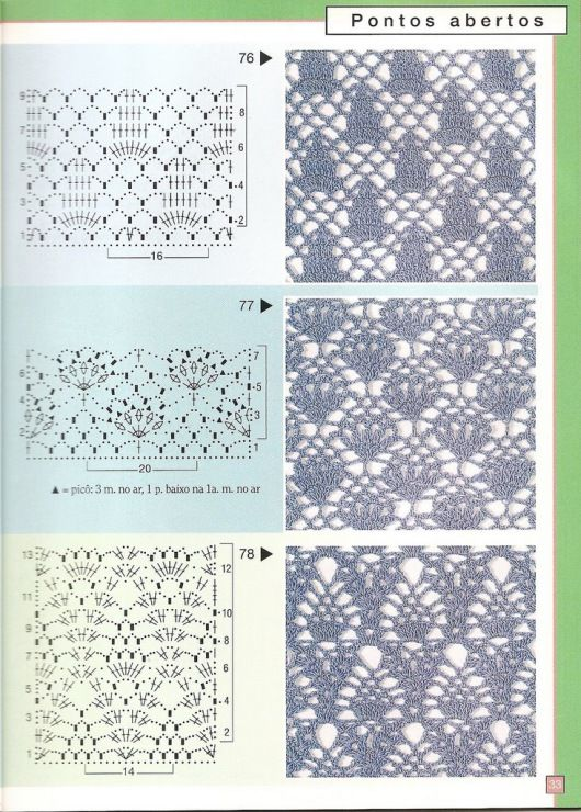 Gallery.ru / Фото #32 - Pontos de croche 205 идей - accessories