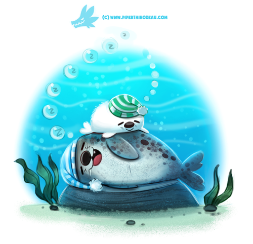 Daily Paint 1295. Seaesta by Cryptid-Creations  ...