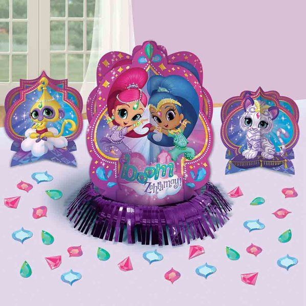 Check Out Shimmer And Shine Table Decorating Kit