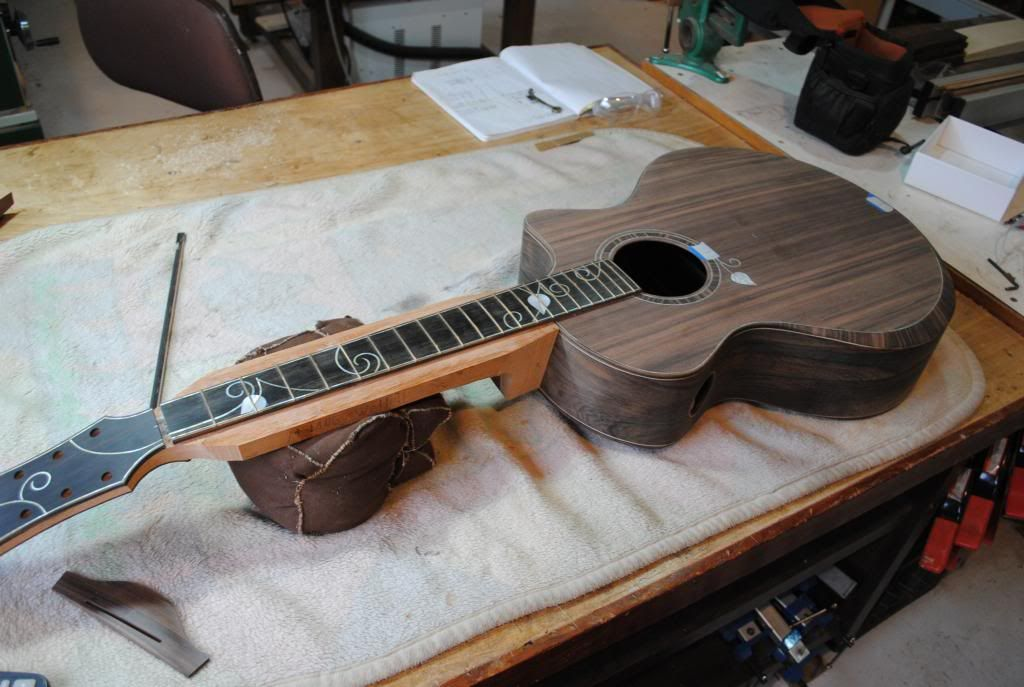 Stehr SJ Sinker-Braz build thread - The Acoustic Guitar Forum - forum plan de maison