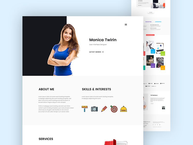 Maximo Cv Resume Pack With Page Builder Resume Web Design Landing Page Design
