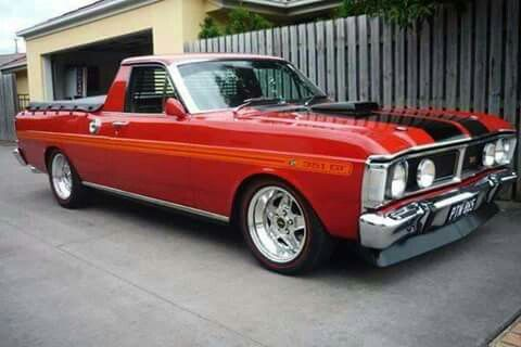1971 Ford Xy Falcon Ute Australian Vintage Muscle Cars